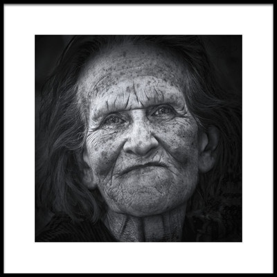 Buy this art print titled Face of Time by the artist Edoardo Gobattoni