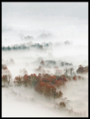 Art print titled Factory Fog by the artist Marco Galimberti