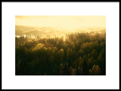 Buy this art print titled Fading Mist by the artist Jere Ketola