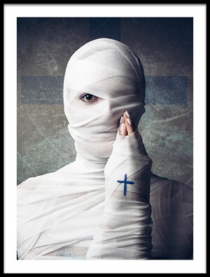 Art print titled Faith by the artist THOMAS BAUNSGAARD