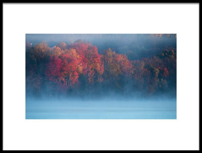 Art print titled Fall Impression 4 by the artist 李从军 / Austin Li