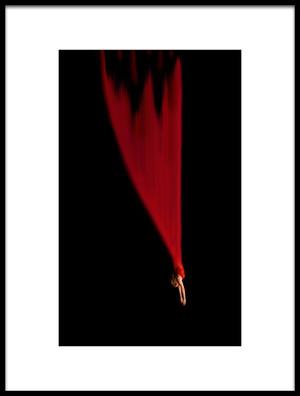 Buy this art print titled Falling Star by the artist Mirela Momanu