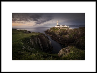 Art print titled Fanad Head by the artist Yolanda Romero Angueira