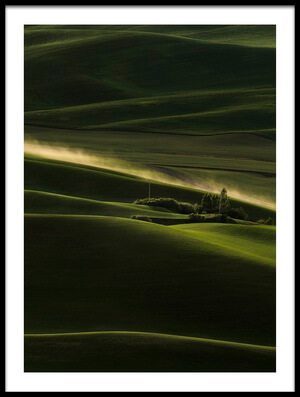 Art print titled Farmland by the artist Phillip Chang