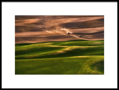 Art print titled Farmland by the artist Lydia Jacobs