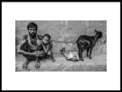 Art print titled Fathers Love by the artist Amit Paul