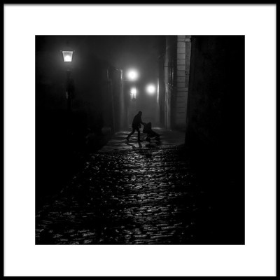 Buy this art print titled Fathers Walk by the artist Luca Domenichi