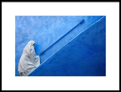 Art print titled Few Steps Away by the artist Fadhel Almutaghawi