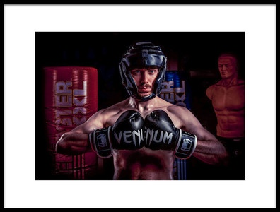 Art print titled Fightclub by the artist Thom Jackson