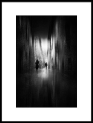 Buy this art print titled Figures In the Alley by the artist Nicodemo Quaglia