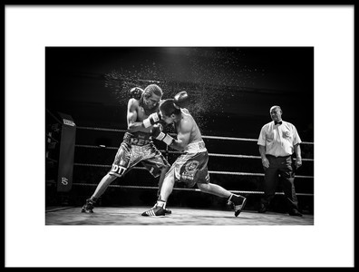 Art print titled Final Round by the artist Devid Camerlynck