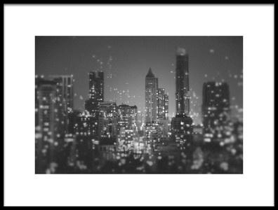 Art print titled Fireflies by the artist ting tai meng