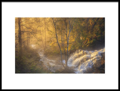 Art print titled First Light by the artist Rune Askeland