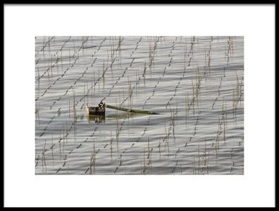 Buy this art print titled Fisherman by the artist ozlem buyukevren