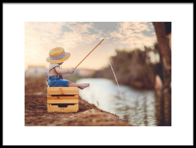 Buy this art print titled Fisherman by the artist Husain ALSaeed