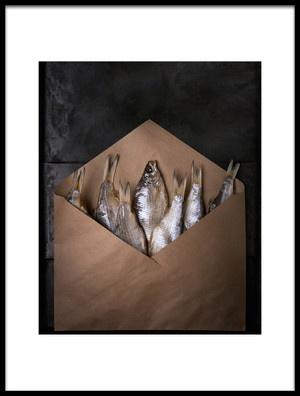 Art print titled Fishka by the artist Golubeva Nataly