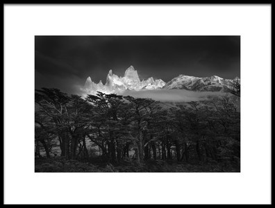 Art print titled Fitz Roy by the artist Lucian Constantin
