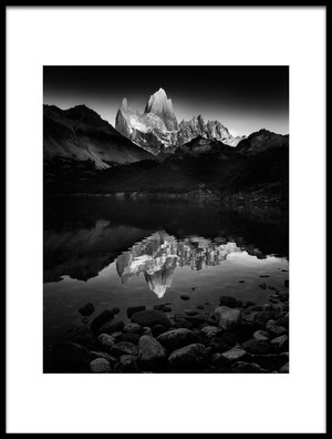 Buy this art print titled Fitzroy Splendor at Dawn by the artist Phil Green