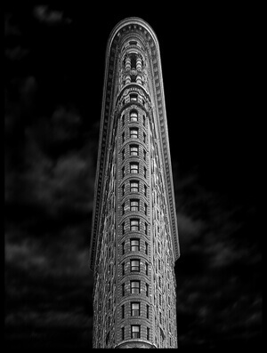 Art print titled Flatiron by the artist Jan Rauwerdink
