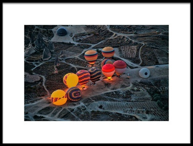 Art print titled Flight Preparation by the artist Ayse  Yorgancilar