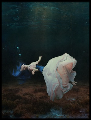 Buy this art print titled Floating In a Dream by the artist Magdalena Russocka