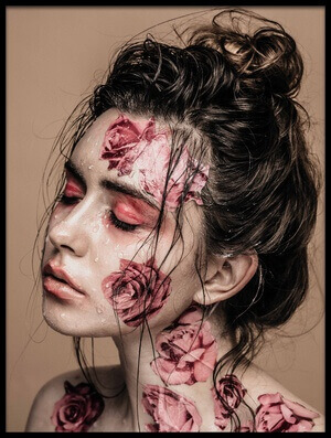 Buy this art print titled Floral Skin by the artist Artem Vasilenko