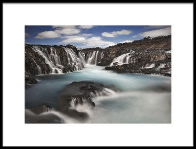 Art print titled Flow by the artist Bragi Ingibergsson - BRIN