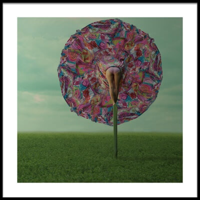 Art print titled Flower by the artist Jovana Vaskovic