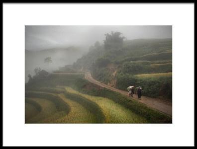Art print titled Fog by the artist sarawut intarob