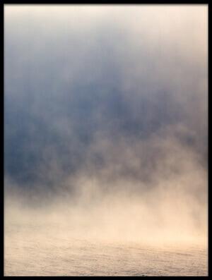 Art print titled Fog by the artist fproject - Przemyslaw Kruk