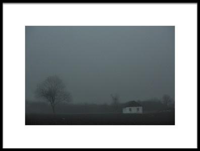 Art print titled Fog by the artist Clas Gustafson EFIAP