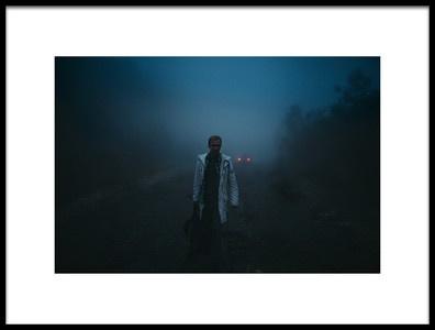 Art print titled Fog by the artist Andrey Yanko
