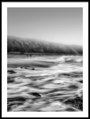 Buy this art print titled Fog In the Sea by the artist Fran Osuna