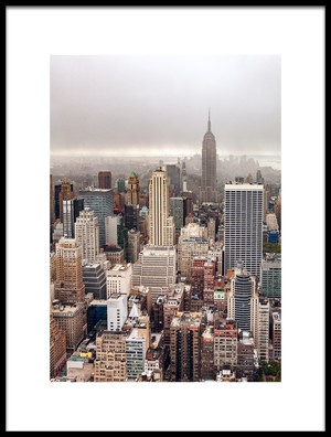 Art print titled Foggy Day In Manhattan by the artist Par Soderman