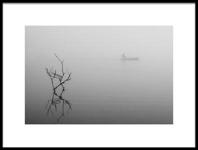 Art print titled Foggy Day2 by the artist 李从军 / Austin Li