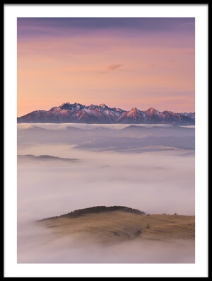 Buy this art print titled Foggy Sea by the artist Krzysztof Mierzejewski