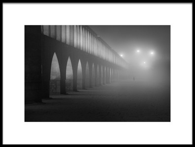 Art print titled Fogy Night by the artist farshad boroomand