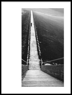 Art print titled Footpath by the artist Rafael Kos