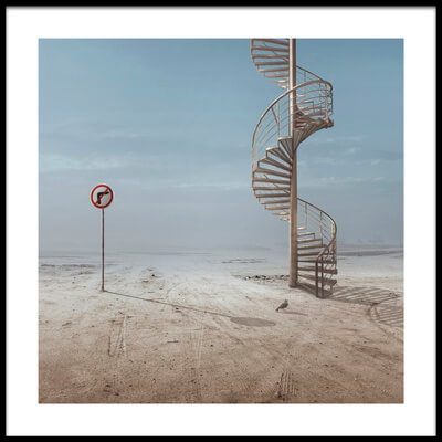 Buy this art print titled Forbidden to Climb by the artist sulaiman almawash