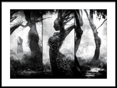 Buy this art print titled Forest - the Other Side - by the artist holger droste