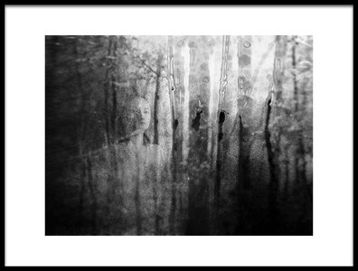 Art print titled Forest by the artist Georgiana Feidi