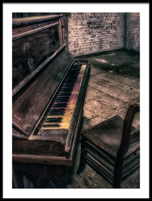 Art print titled Forgotten Tune by the artist Adrian Popan