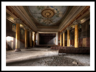 Art print titled Former Glory by the artist Roland Shainidze