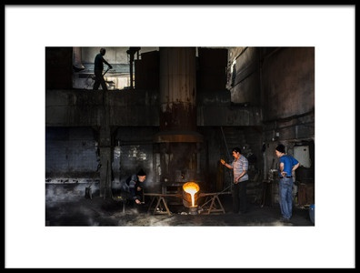 Art print titled Foundries by the artist Yasemin Bakan