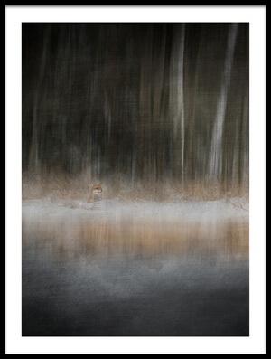 Buy this art print titled Fox by the artist Doris Reindl