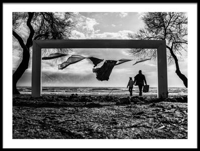 Buy this art print titled Frame by the artist şirin aktürk