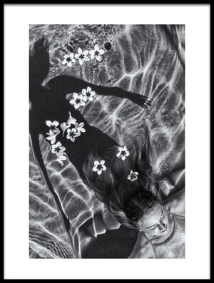 Buy this art print titled Frangipani Tree by the artist Gloria Salgado Gispert