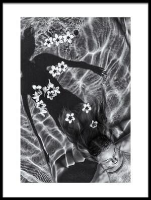 Art print titled Frangipani Tree by the artist Gloria Salgado Gispert