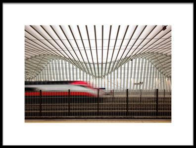 Art print titled Freccia Rossa 2 by the artist Massimo Della Latta