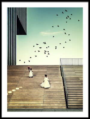 Art print titled Free Like a Bird by the artist Dennis Mohrmann